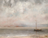 Clouds On Lake Leman, Dated 1875 by Gustave Courbet