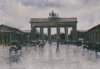The Brandenburg Gate by Lesser Ury