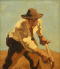 Der Macher, Circa 1921 by Albin Egger-Lienz