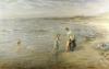 Paddling, 1901 by Hugh Cameron