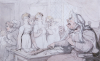 The Cruel Mistress by Thomas Rowlandson