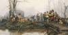 The Encampment, 1878 by Cesare Auguste Detti