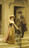 My Next-Door Neighbour, 1894 by Edmund Blair Leighton