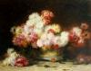 Chrysanthemum And Other Flowers In A Bowl by Abu'l Hasan Ghaffari