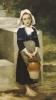 La Fille D'Eau by Adolphe William Bouguereau