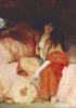 A Harem Beauty Holding A Fan by Gabriel Joseph Marie Augustin Ferrier