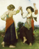 La Tarantella, 1879 by Leon Jean Perrault