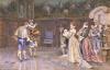 A Presentation Of Henry Of Navarre, Later King Henri IV Of France, 1887 by Giuseppe Aureli