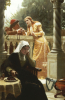 A Stolen Interview, 1888 by Edmund Blair Leighton