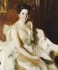 Portrait Of Mrs De Ver Warner by Anders Leonard Zorn