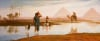 Overflow Of The Nile, With The Pyramids by Frederick Goodall
