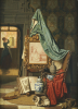 An Artists Studio, 1883 by Charles Josef Grips