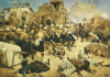 The 92nd Highlanders And The 2nd Gurkhas Storming Gaudi Mullah Sahibhad, Candahar by Richard C. Woodville