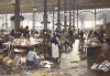 The Fish Hall At The Central Market, 1881 by Victor Gabriel Gilbert