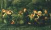 Green Summer, 1868 by Sir Edward Burne-Jones
