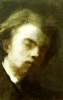 Self-Portrait, 1858 by Ignace-Henri-Théodore Fantin-Latour