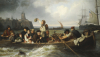 Emigration To America, 1860 by Antonie Volkmar