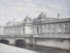 The Marmorbroen, Christiansborg Palace, Copenhagen by Vilhelm Hammershoi