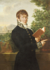 Portrait Of An Official, Said To Be L'Intendant Delonay, 1809 by Baron Francois-Xavier Fabre