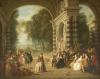 The Pleasures Of The Ball. Les Plaisirs Du Bal by Jean-Baptiste Joseph Pater
