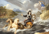 An Allegory Of King Louis XIV In Armour Hailed As King Of The Sea by Jean Nocret