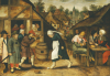 The Egg Dance by Pieter Brueghel The Younger