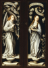 The Annunciation Reverse Of Triptych Wings by Christie's Images