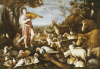 Orpheus Charming The Animals by Leandro Bassano