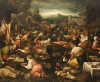 A Country Market. Follower Of Jacopo Da Ponte by Jacopo Bassano