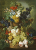 A Still Life Of Flowers And Fruit by Jan Van Os