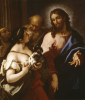 Christ And The Canaanite Woman by Sebastiano Ricci