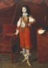 Portrait Of A Young Man Wearing Red by Ecole De Bergamo Autour De