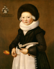 Portrait Of A Girl Of The Staude Family, 1645 by Christie's Images
