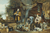 Camping In The Woods - A Good Time Coming, 1863 by Arthur Fitzwilliam Tait