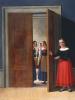 Women By A Doorway by Christian Wilhelm Eckersberg