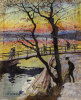 The Footbridge, Lidingobron, 1918 by Carl Wilhelm Wilhelmson