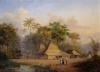De Dessa Pandean Magelan, Rs Madioen, Java, 1854 by Jacob Dirk Van Herwerden