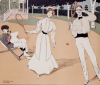 The Tennis Game, 1902 by Maurice Biais