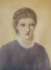 Portrait Of Frances Graham, 1879 by Sir Edward Burne-Jones