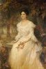 Portrait Of A Lady, 1902 by Edward Robert Hughes