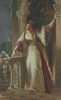 It Is I, Be Not Afraid - Juliet On Her Balcony by Sir Frank Dicksee