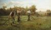 Mowing Clover by Arthur Verey