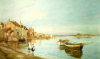All On A Summers's Day, At Bosham, Sussex by Charles William Wyllie