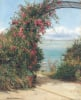 A Garden By The Sea by Frank William Warwick Topham
