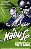 The Last Will Of Dr Mabuse by US Movie Poster