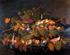 Still Life: The Abundance Of Fruit by Severin Roesen
