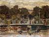 Sailboat Pond, Tuileries Garden by Maurice Prendergast