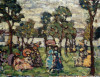 Holiday Strollers by Maurice Prendergast