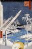 Lumberyards At Fukagawa by Ando Hiroshige