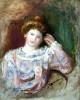 Buste De Femme by Pierre Auguste Renoir